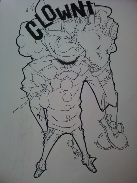 Ghetto Tattoo Flash Design Boog Tattoo Gangster Tattoo Flash