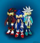 3 Gods (HAPPY BIRTHDAY GIGI!!!!))