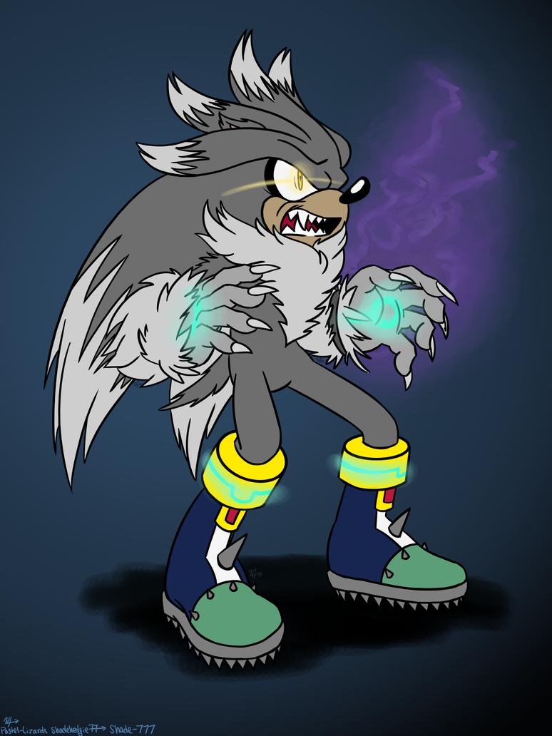 silver the werehog by shadehedgie77 on deviantart
