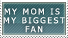 My Biggest Fan Stamp by Riley-Dei