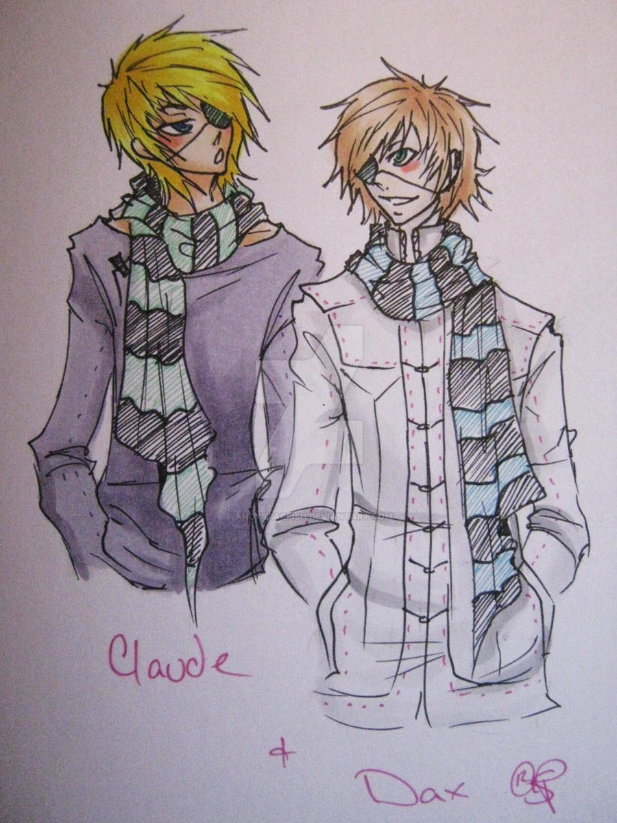Dax and Claude. Claude and dax by AndyStarfish