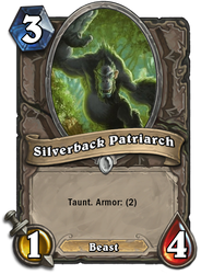 Hearthstone: Silverback Patriarch+