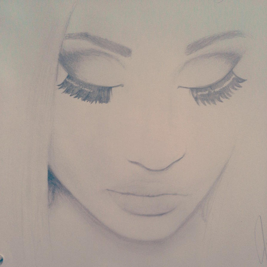 Nicki minaj drawing by miserybusiness174 on deviantart nicki minaj drawing by miserybusiness174 voltagebd Image collections