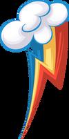 Rainbow Dash's cutie mark, restyled!