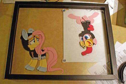 Pinkie Pie under construction