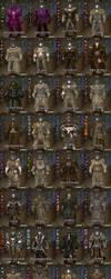 GW2: Norn Male PvP Light Armors / 4 Stress test by Spellshuei