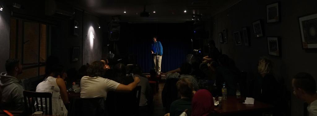 Spoken Word Poet by iraqiguy