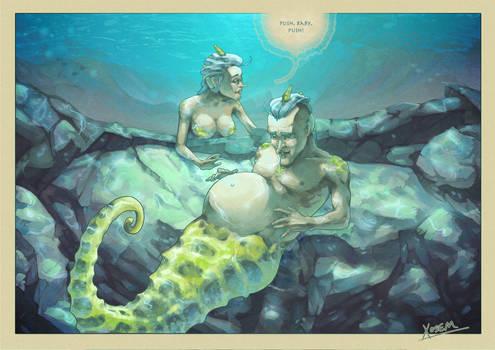 Mermay: Hippocampus sapiens