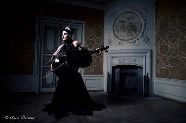 Orchestra in the dark by Annie-Bertram