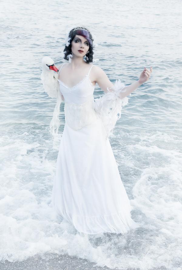 Swan Lake by Annie-Bertram