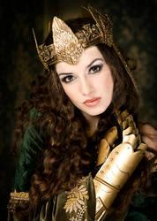 The golden queen by Annie-Bertram
