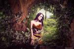 In my secret garden by Annie-Bertram