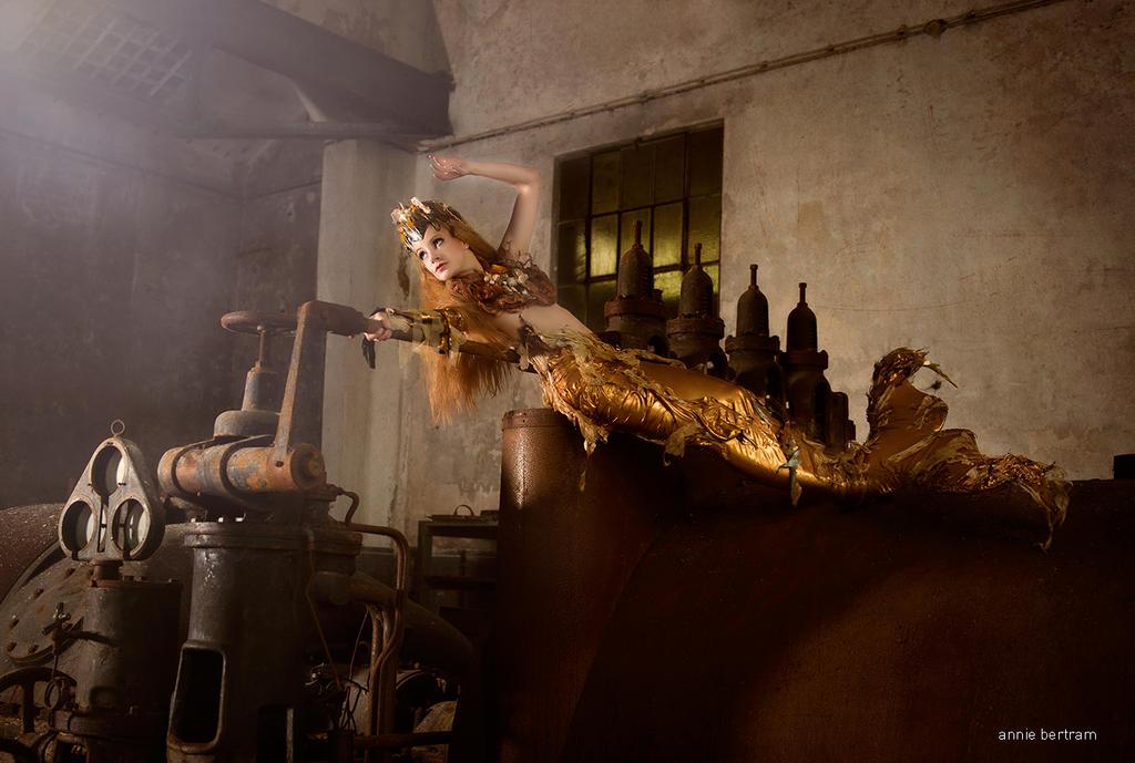 Rusted Mermaid by Annie-Bertram