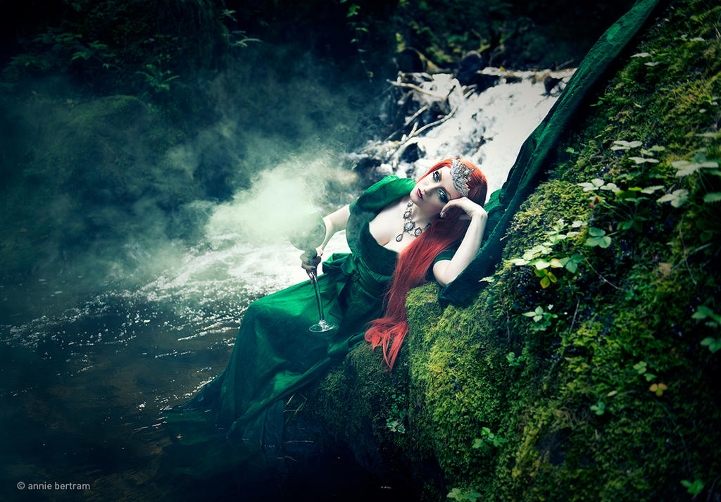 Absinth Fairy by Annie-Bertram