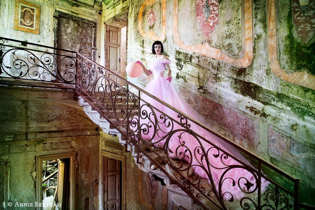 Flamingo Fairytale by Annie-Bertram