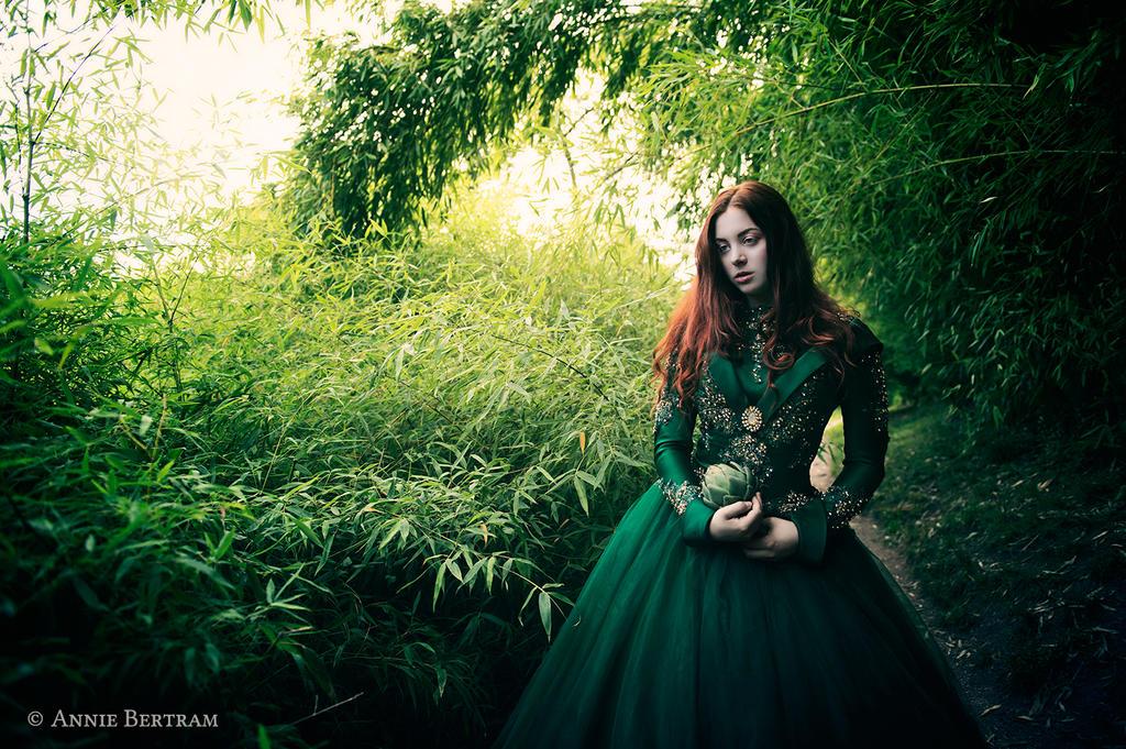 The Secret Garden by Annie-Bertram