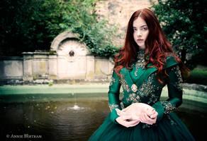 The secret in the fountain by Annie-Bertram