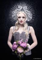 Silver violet dreams by Annie-Bertram