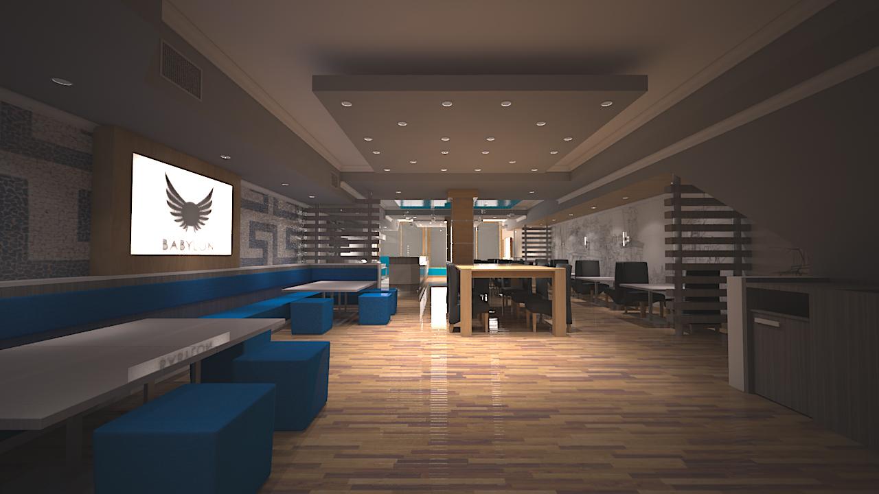 Babylon Restaurant Visualisation by afaq125