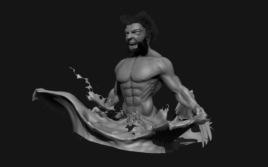 Wolverine Sculpt