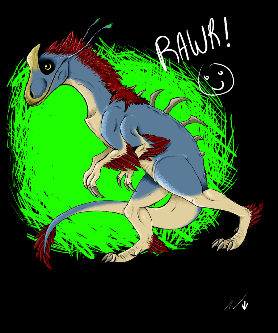 raptor thingy[ by Deceptiicon