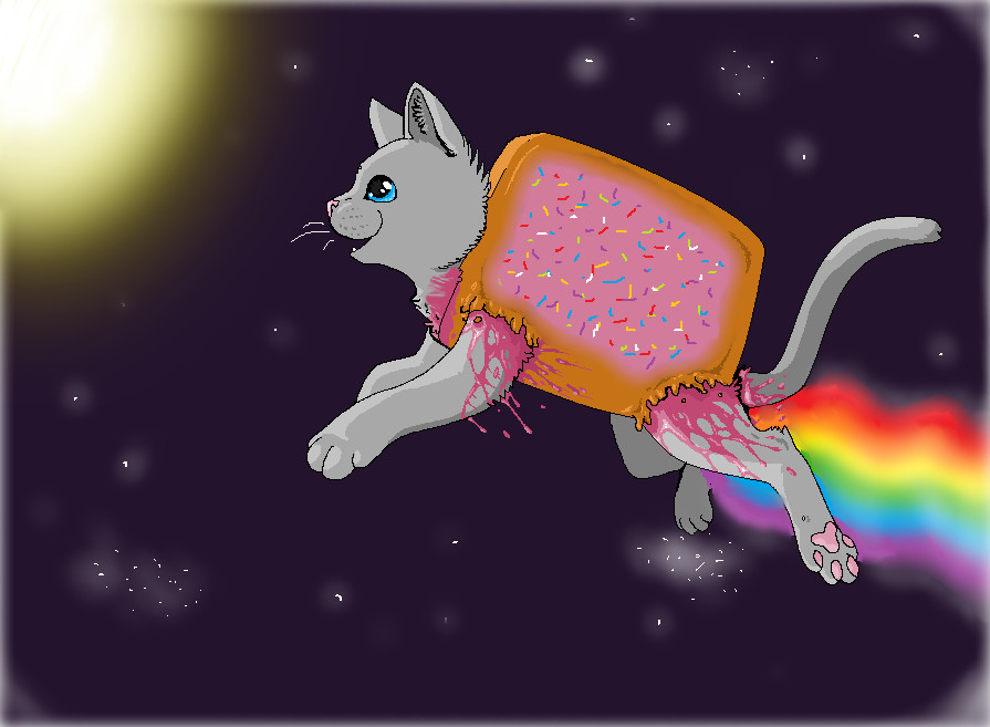 nyan cat desktop by Deceptiicon