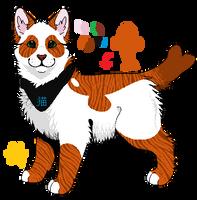 Panda Tabby Adoptable *CLOSED* by Deceptiicon
