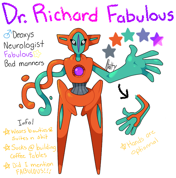 Dr. Richard Fabulous ref by Deceptiicon