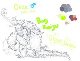 Kaiju OC Concept by Deceptiicon