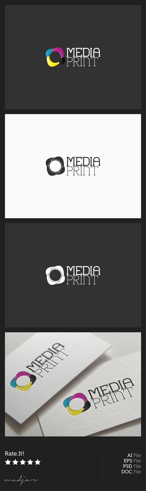 Media Print Logo by madjarov on DeviantArt