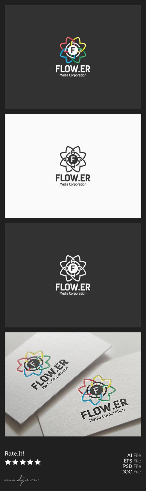 Flower Logo by madjarov