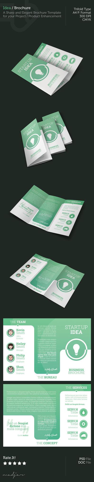 Idea - Trifold Brochure by madjarov