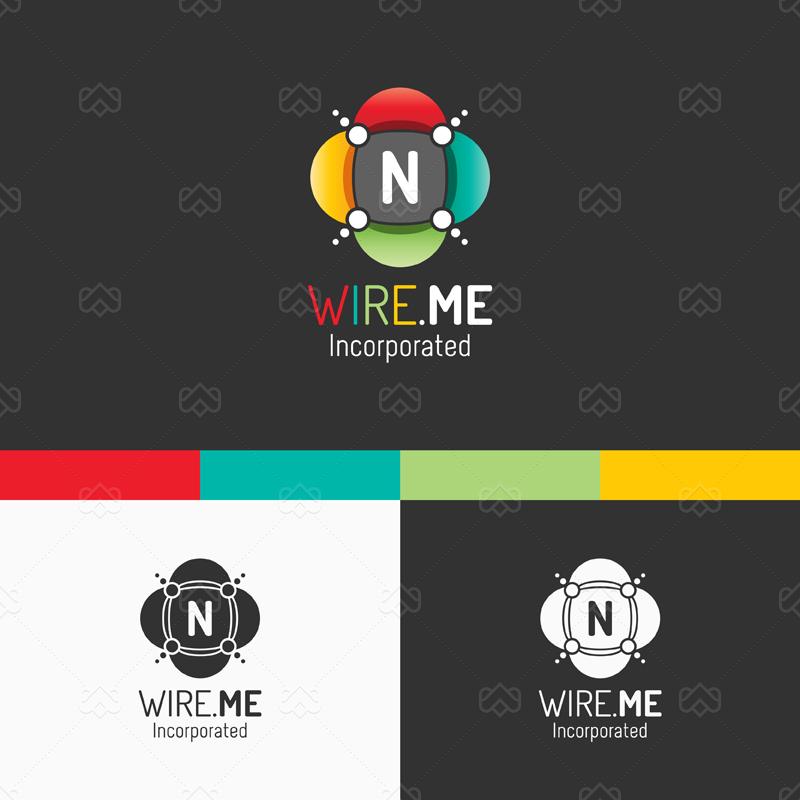 Network Logo by madjarov