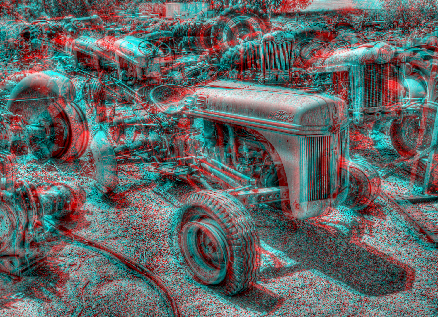 Ford Tractor Wallpaper Ford Tractor Graveyard by