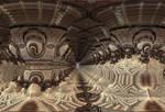 Zig Zag Hall in Brown by DDDPhoto