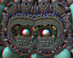 Beaded Mask Stereo
