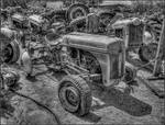 Ford Tractor Graveyard 2D