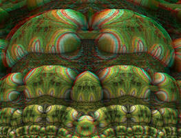 Study In Green Stereo by DDDPhoto
