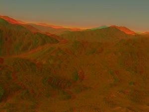 Mountain Sunrise Stereo