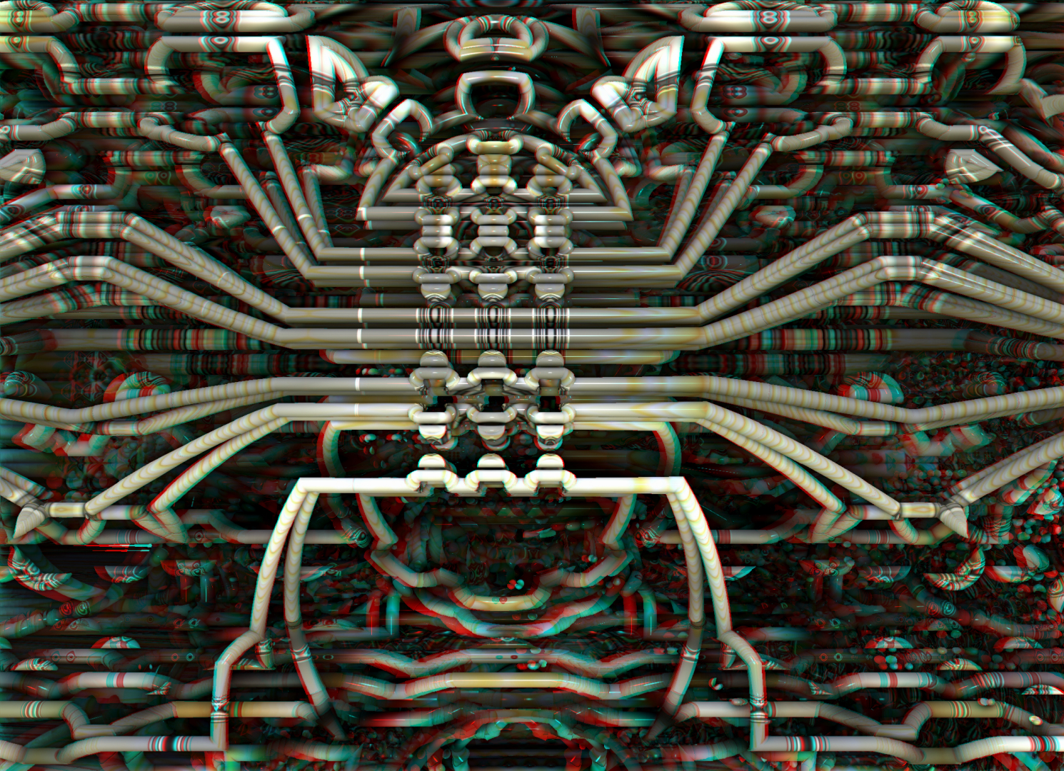 Color Coded Conduit Stereo by DDDPhoto