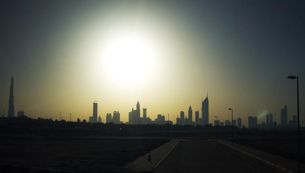Panorama of Dubai by Oleg-Y