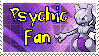 Psychic Fan Stamp by dark-rukario