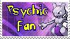 Psychic Fan Stamp by dark-rukario