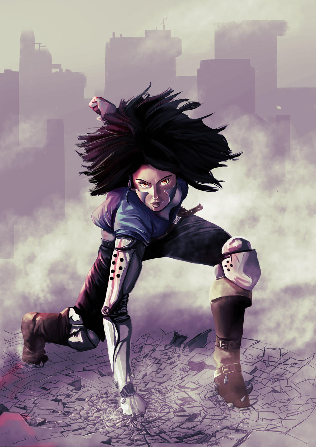 Alita battle angel by 2di