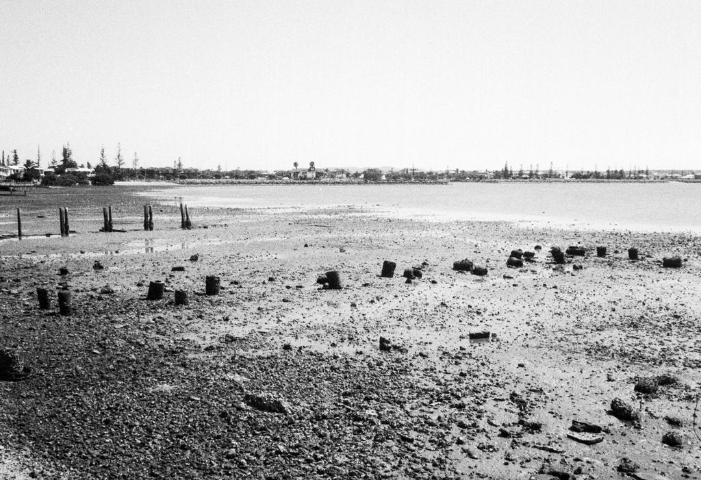 Low Tide At Raby Bay by strictfunctor