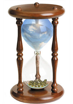 imaginary worlds project : hour glass world