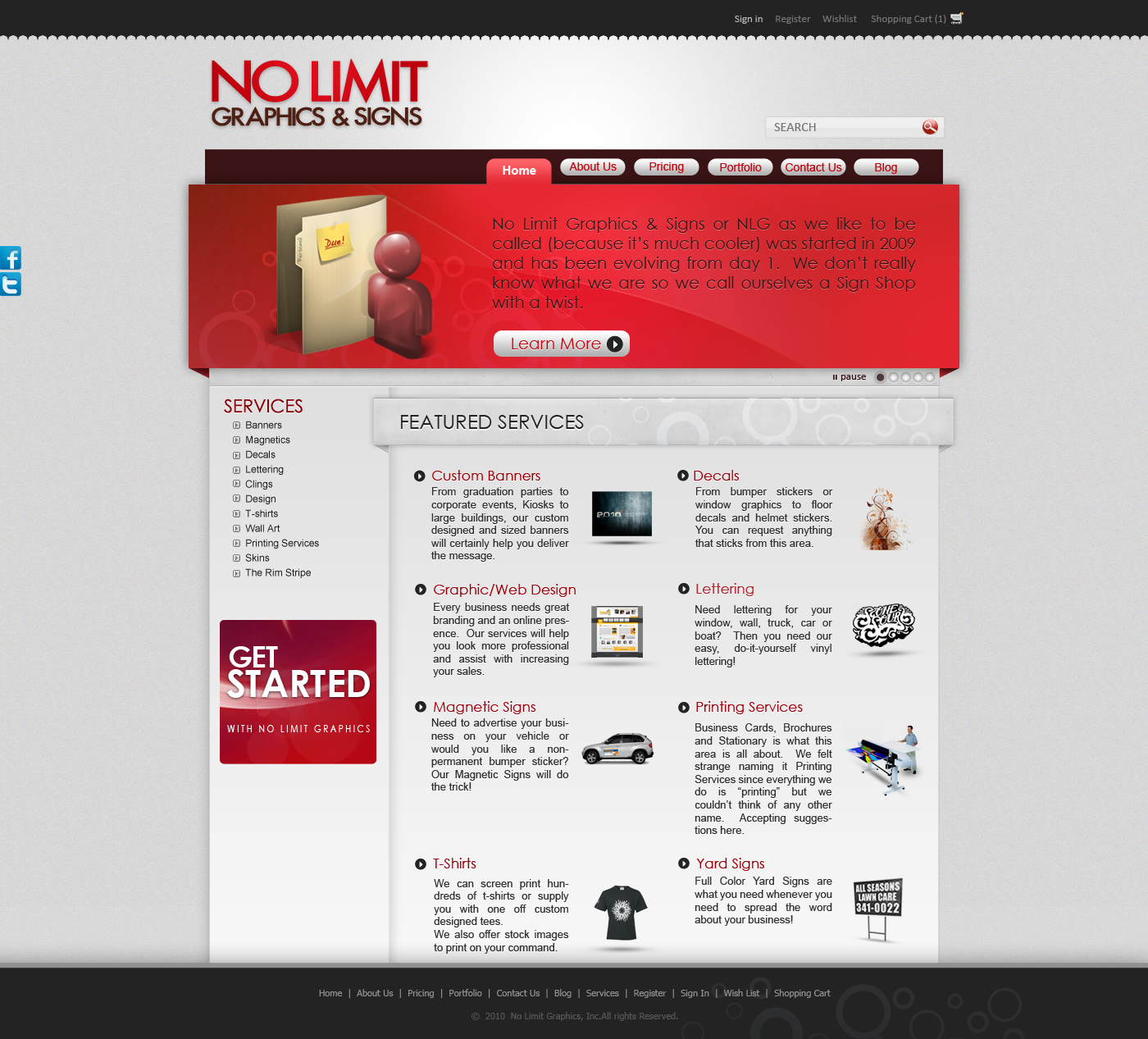 NLG website by karmooz