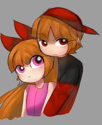 Hugging Blossick