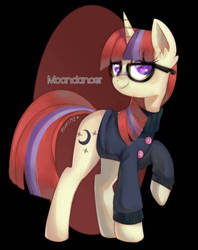 MLP: Moondancer  by riukime