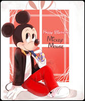 Happy Birthday Mickey Mouse!  by riukime